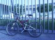 Bicicleta bianchi doble suspensión aro 24 en buen estado
