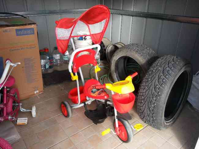 Vendo triciclo niño, Impecable !!!
