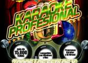 Karaokes en chile sonido real mp3