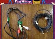 Cable mini plug a rca, cable mini plug a mini plug