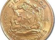 Monedas de oro pago contado o transferencia.