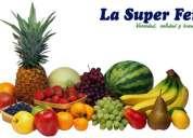 Proveedor de frutas y verduras al por mayor facturación inmediata