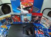 Playstation 3 slim 250 gb exelente estado con garantia