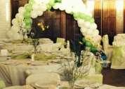 Se ofrece todo tipo de decoraciones .matrimonios,cumpleañoss infantiles,etc .ademas de juegos infla