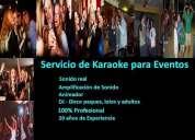 Animacion de matrimonios karaoke a domicilio