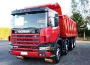Camión tolva scania de 22 mts cubico año 2006 impecable ( solo billetes ) atiendo solo llamadas