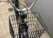 Bicicleta lashen mujer con canasto y accesorios