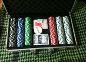 Set fichas poker con cartas