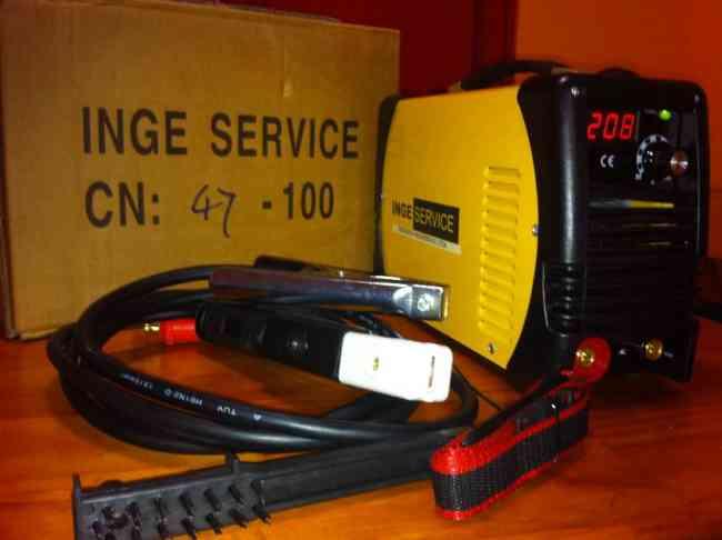 soldadora portátil 200 amp