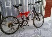 Bicicleta, la vendo con urgencia