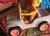 Jeep barbie de coleccion año 87