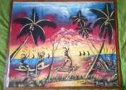 Pintura original haitiana