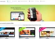Diseño de páginas web profesionales (todo incluido)