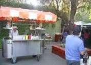 arriendos - carros de hot dog