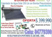 Calefactor solar