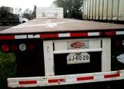 tracto camión kamaz 54112 con rampla en perfecto estado