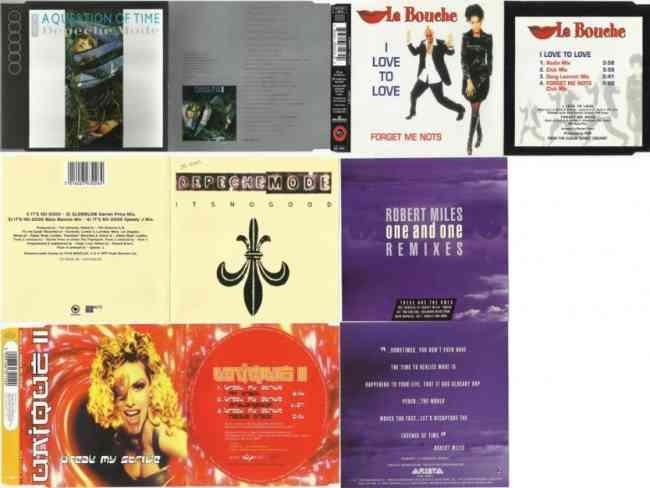 Vendo cds maxi single impecables.
