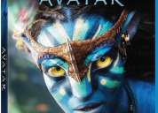 Blu ray 3d + blu ray 2d + dvd: avatar. nuevo. sellado. edición u.s.a en perfecto estado