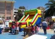 Juegos inflables y mobiliario infantil