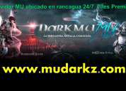 Servidor español mu darkz files premium item