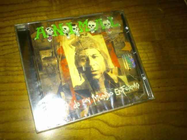 CD de A.N.I.M.A.L Fin de Un Mundo Enfermo