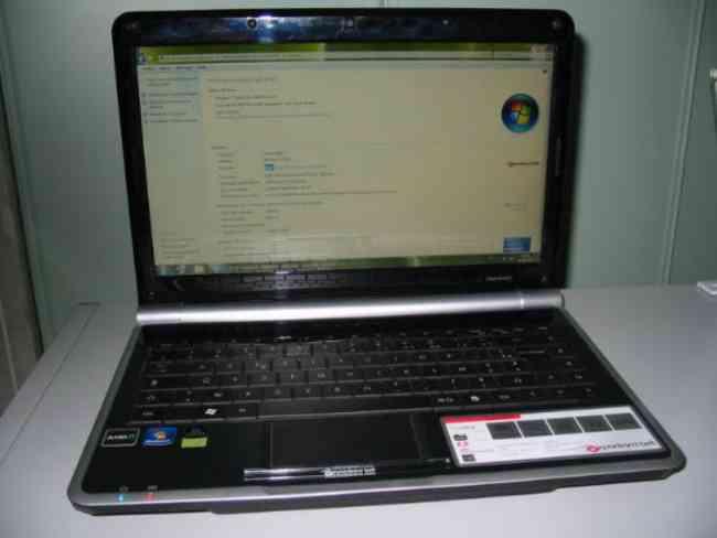 Notebooks Packard Bell seminuevos con accesorios