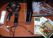 Nintendo wii black en perfecto estado
