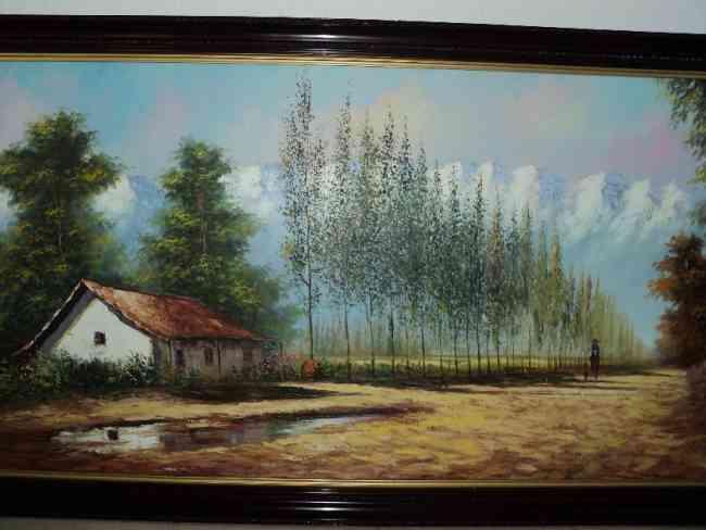 Vendo Pintura Paisaje Chileno