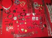 Lote de joyas de acero quirurgico