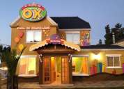 Casa de cumpleaños el mundo de ox