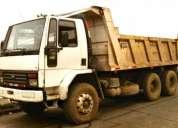 Ford cargo 2425 tolva doble pte año 1994