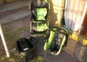 Coche + silla +base