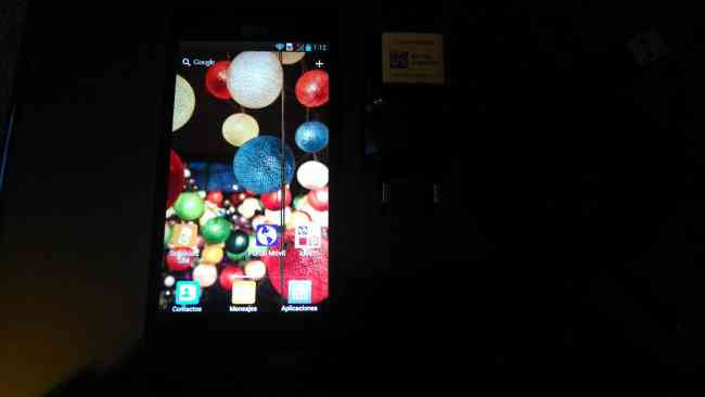 celular LG 4XHD P880 poquísimo uso