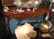 Antiguedades compro, muebles, cuadros, plateria, esculturas, lamparas, etc. pago efectivo.