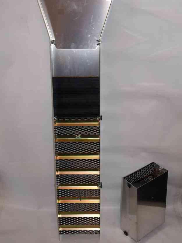 Canaleta Rio Prospección Oro, Sluice 51 Gold Panning Challa Batea