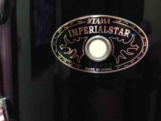 Shellpack Tama Imperialstar