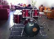Vendo bateria pearl forum impecable $195,000,