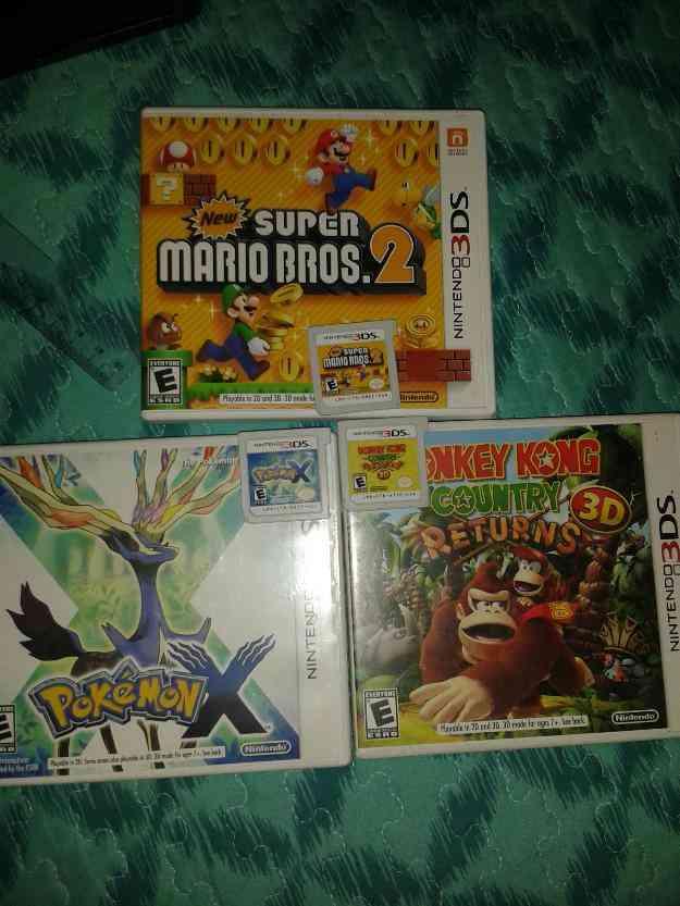 Cambio Nintendo 3DS mas juegos por Xbox 360 o PS3