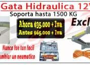 Gata eléctrica 12v para auto !!oferta solo x hoy!!
