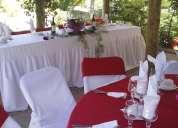 Matrimonio al aire libre,banqueteria, paseos, parcela agrado
