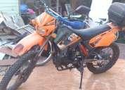 Vendo moto motorrad 250cc en duro. nueva