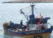 Vendo embarcación 11 metros eslora con permiso pesca