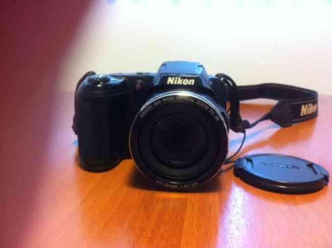 Camara Nikon coolpix l810 16 m pixeles impecable como nueva