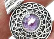 Vendo  joyas en plata 925 con piedras naturales