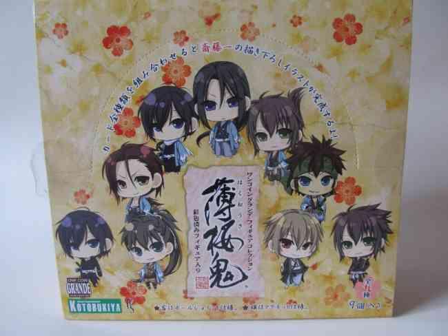 figuras Hakuouki Originales (en Stock)