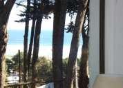 Casa el tabo equipada total a pasos de la playa vista al mar