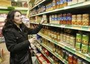 Reponedores y vendedores para supermercados