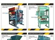MÁquinas para fabricar bloques, hormigÓn, ladrillos