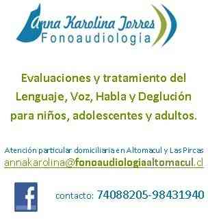 Fonoaudióloga Altomacul - Las Pircas