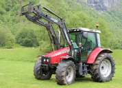 Tractor massey ferguson 5455,año:2004